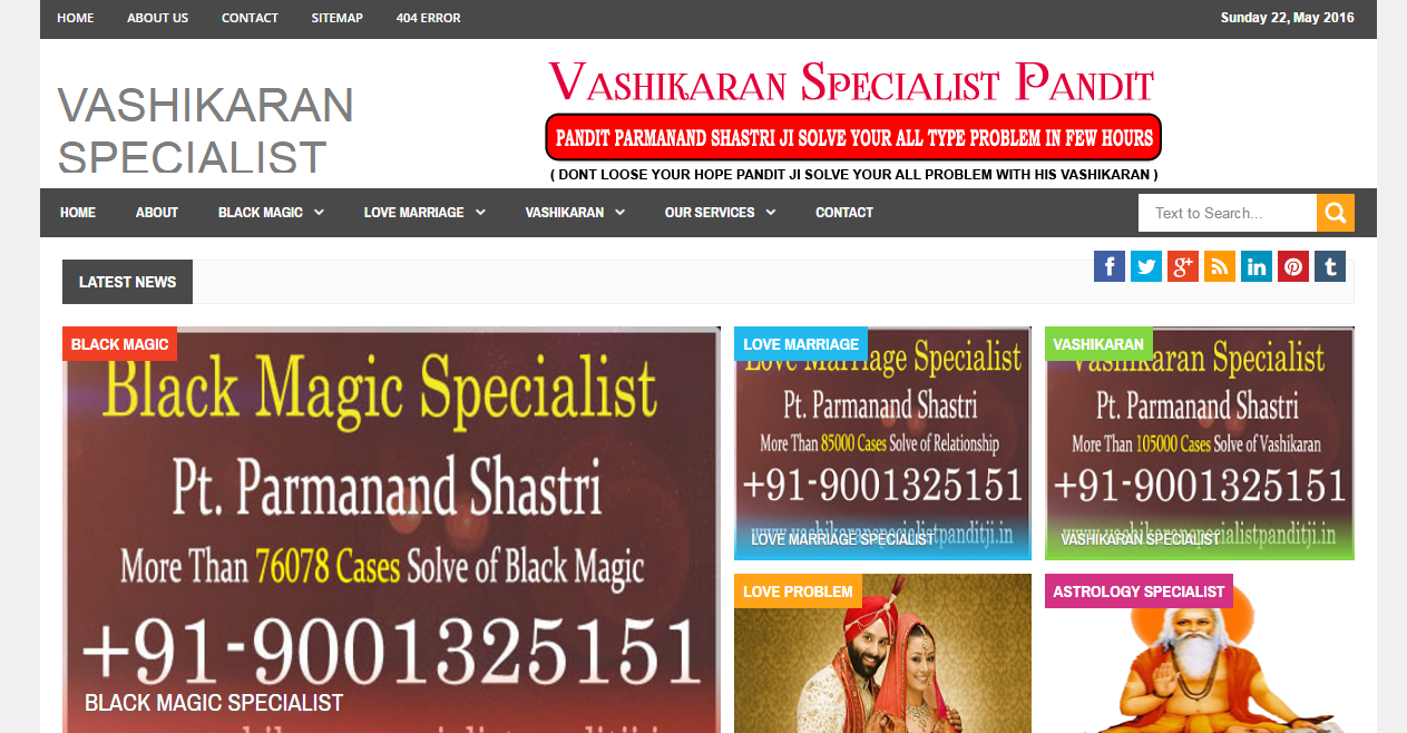 www.vashikaranspecialistpanditji.in