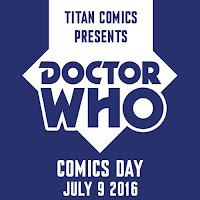 Titan Comics a annoncé la venu d'un événement spécial sur le plus célèbre docteur de la télévision britannique: le Doctor Who.    Le 9 juillet 2016 sera donc le Doctor Who day, Titan Comics va mettre les petits plats dans les grands en nous proposant plusieurs événement dans pas moins de 2900 endroits, allant de comics shops, des librairies et encore plus. Mais la petite cerise sur le gâteau c'est que Titan Comics va mettre à disposition des fans des kits pour organiser eux-mêmes leurs propres Doctor Who day.