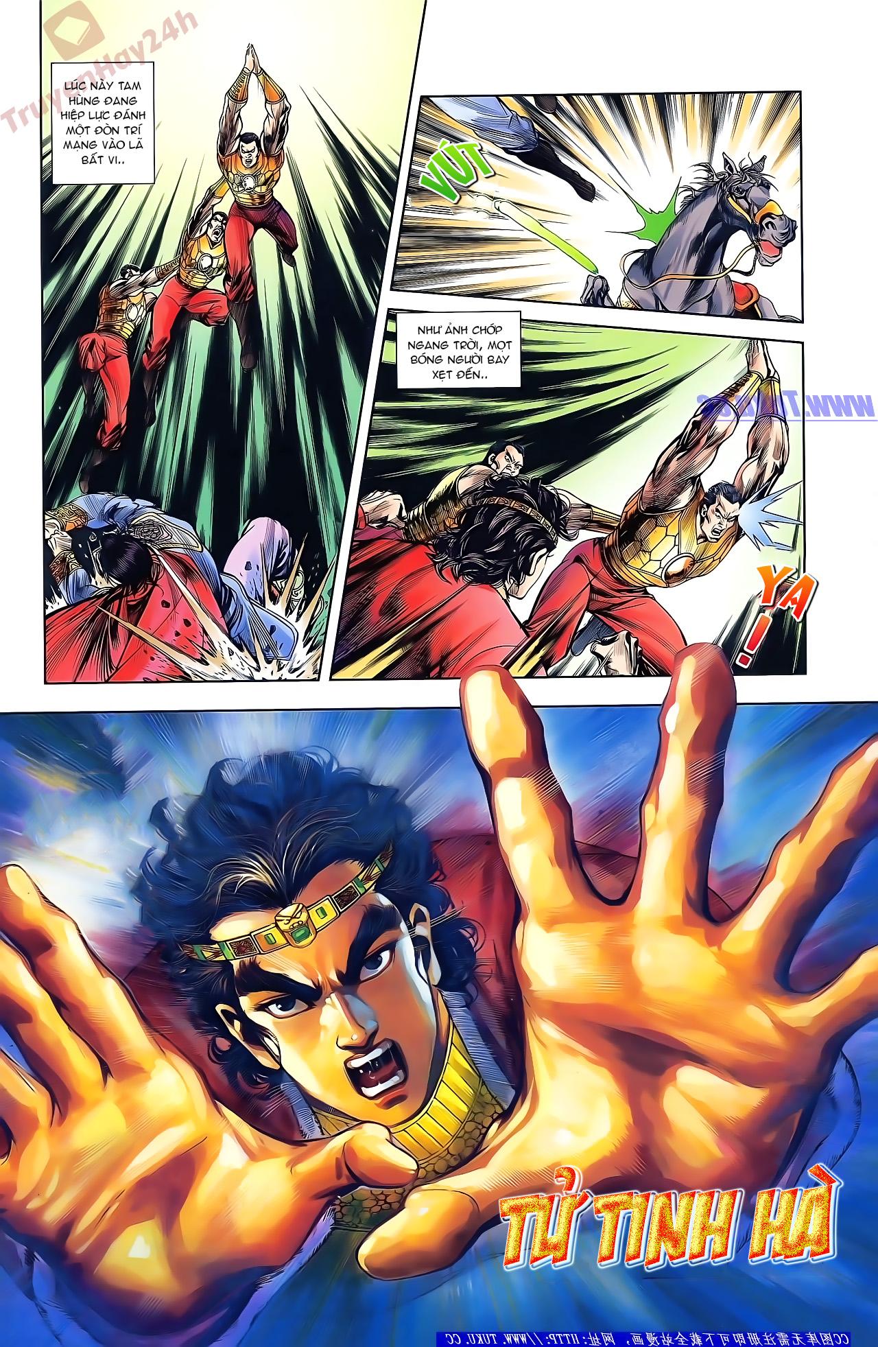 Tần Vương Doanh Chính chapter 46 trang 24
