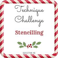 52CCT technique challenge - stencilling