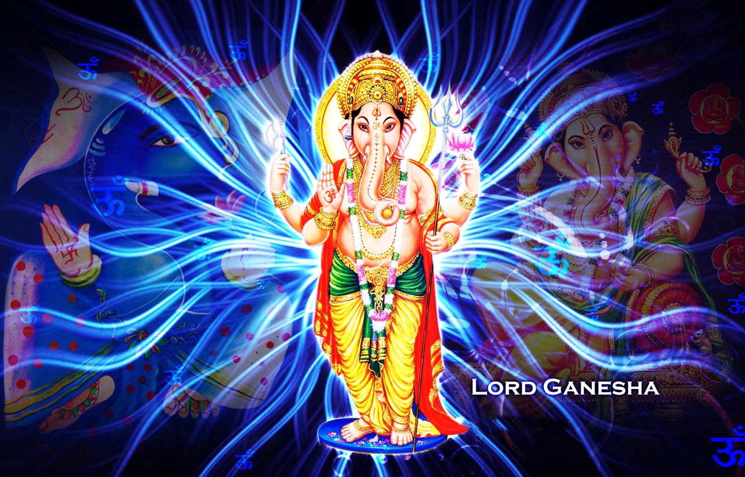 Standing Ganpati wallpaper!