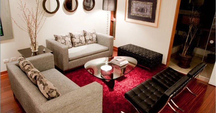 Hermosas salas modernas y peque as decoraci n del hogar for Disenos de salas modernas