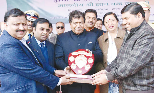 First award to Jhansi of Rural Development Agency for Republic Day celebrations