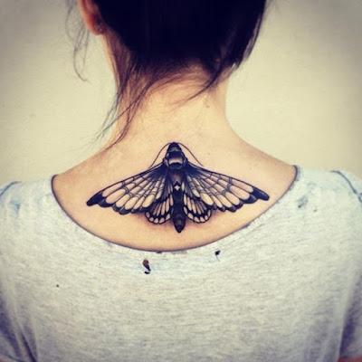 tatuajes para mujeres en la espalda de angeles