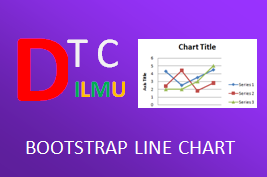 line chart from database