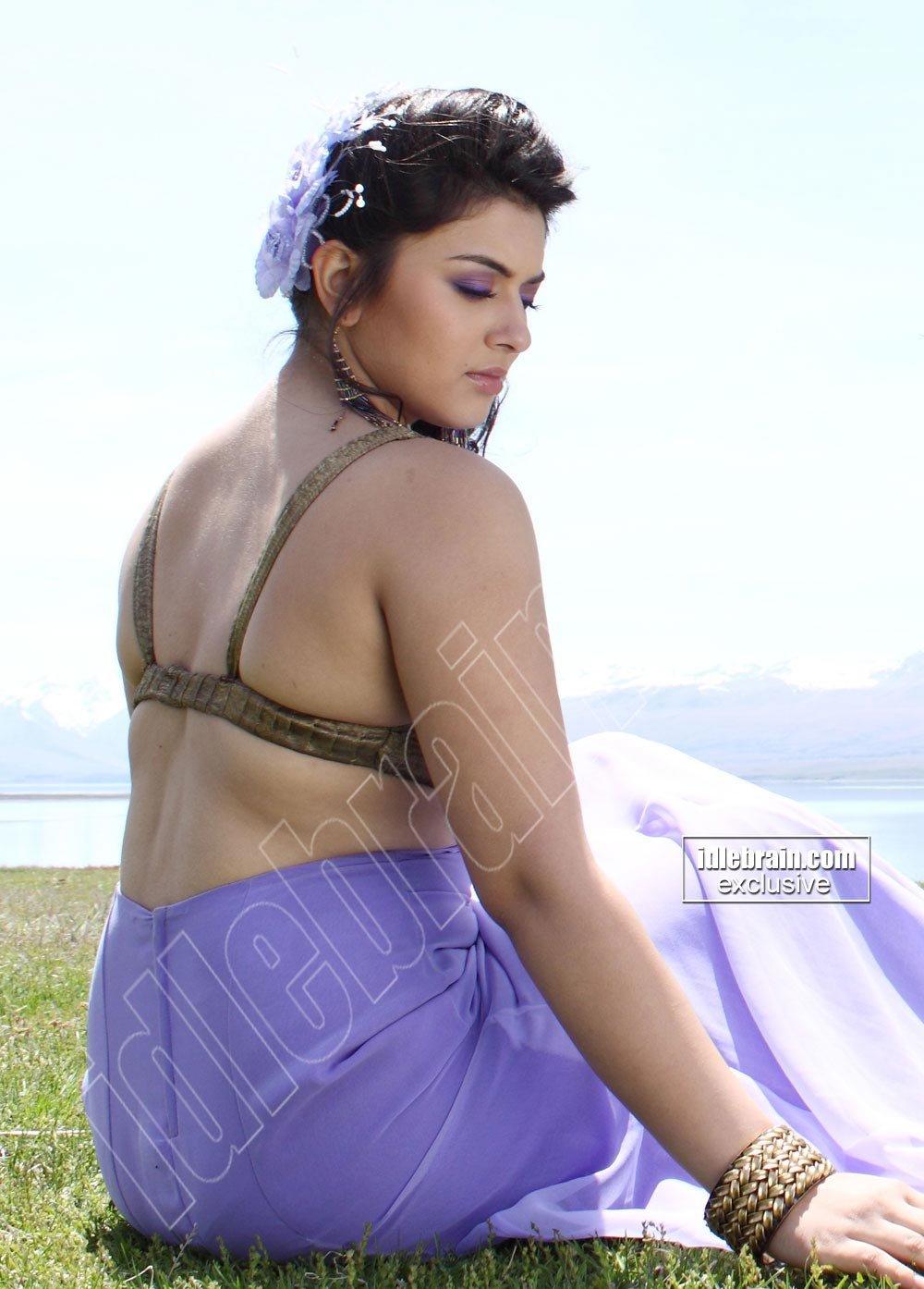 Hansika Motwani In Saree  Movieadda-9911