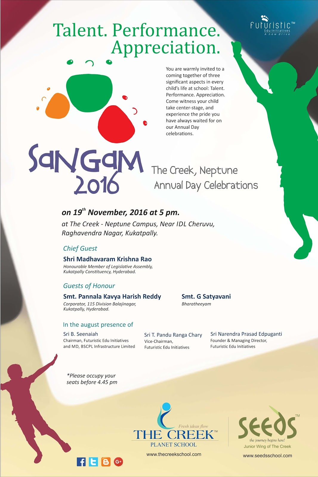 The creek planet school sangam annual day concert invitation sangam annual day concert invitation neptune campus stopboris Choice Image