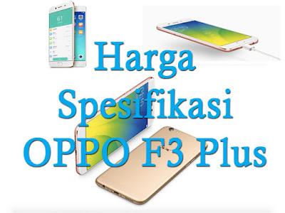Smartphone Oppo F3 Plus