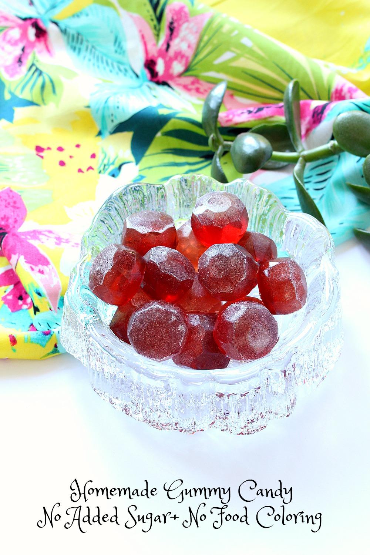 Easy Diy Sugar Scrub: Easy Homemade Gummy Candies, With NO Added Sugar
