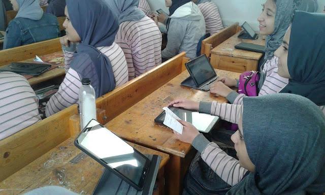 السيستم يسقط في أول اختبار إلكتروني لأولى ثانوي.. حضر الطلاب وغاب الامتحان 20190324150825950