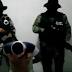 """Video: Empistolados del Grupo Sombra interrogan a """"supuesto"""" policía de Veracruz"""