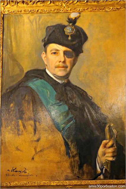 Retrato del Conde Húngaro en el Salón Matutino de la Mansión The Breakers, Newport