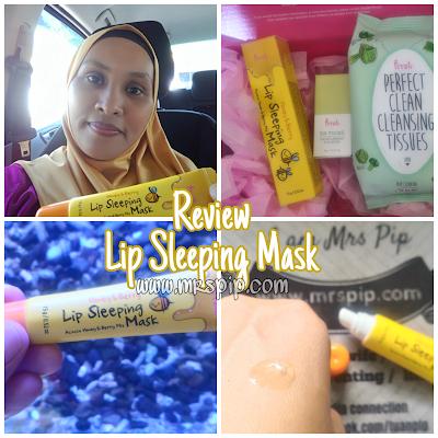 Review Prreti: Lip Sleeping Mask sesuai untuk masalah bibir merekah
