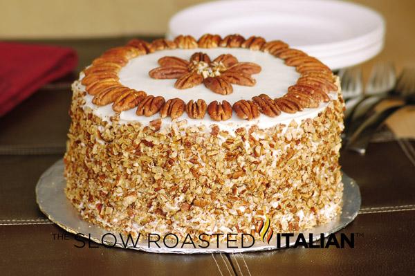 Pineapple Pecan Cake Using Cake Mix