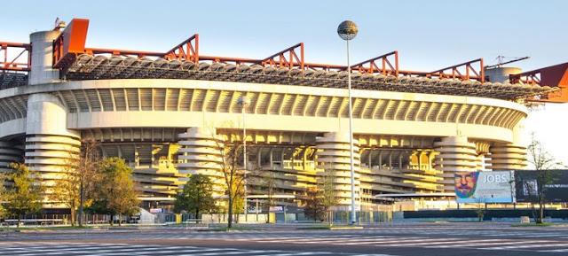 Sobre o Estádio Giuseppe Meazza em Milão