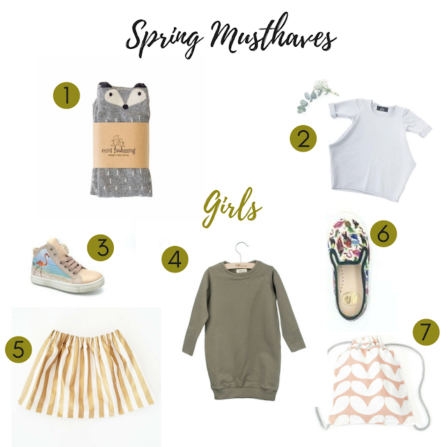 Kindermode, spring musthaves, lots of little, stylingtips