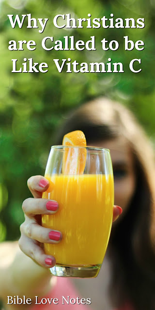 Why Christians Are Meant to be Like Vitamin C in our Toxic World