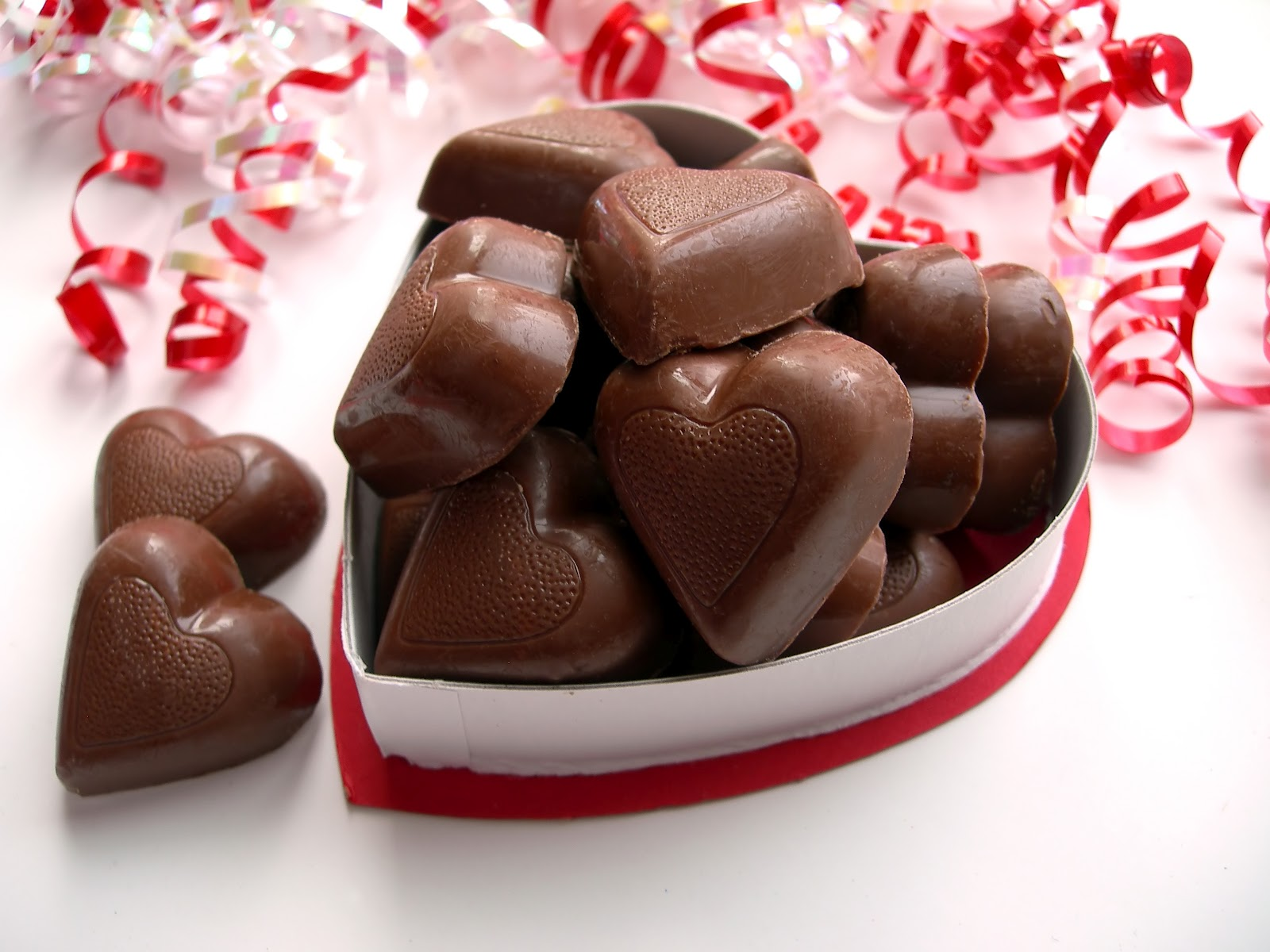 Valentine S Day T Chocolate Hearts