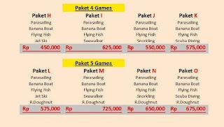 Paket water sport murah di Bali