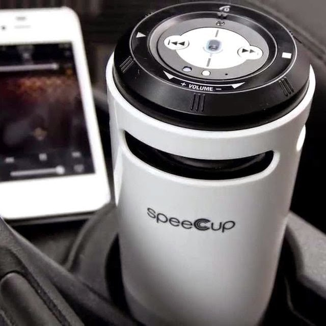 Smart Gesture Controlled Gadgets - speeCup Portable Bluetooth Speaker