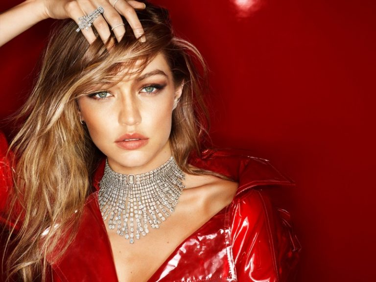 Gigi Hadid for Messika Holiday Jewelry