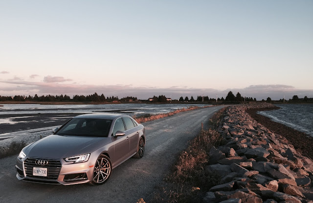 2017 Audi A4 Technik Quattro Florett Silver