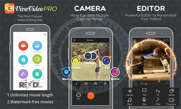 Viva Video pro v4.5.8 Apk mod Terbaru For Android Free