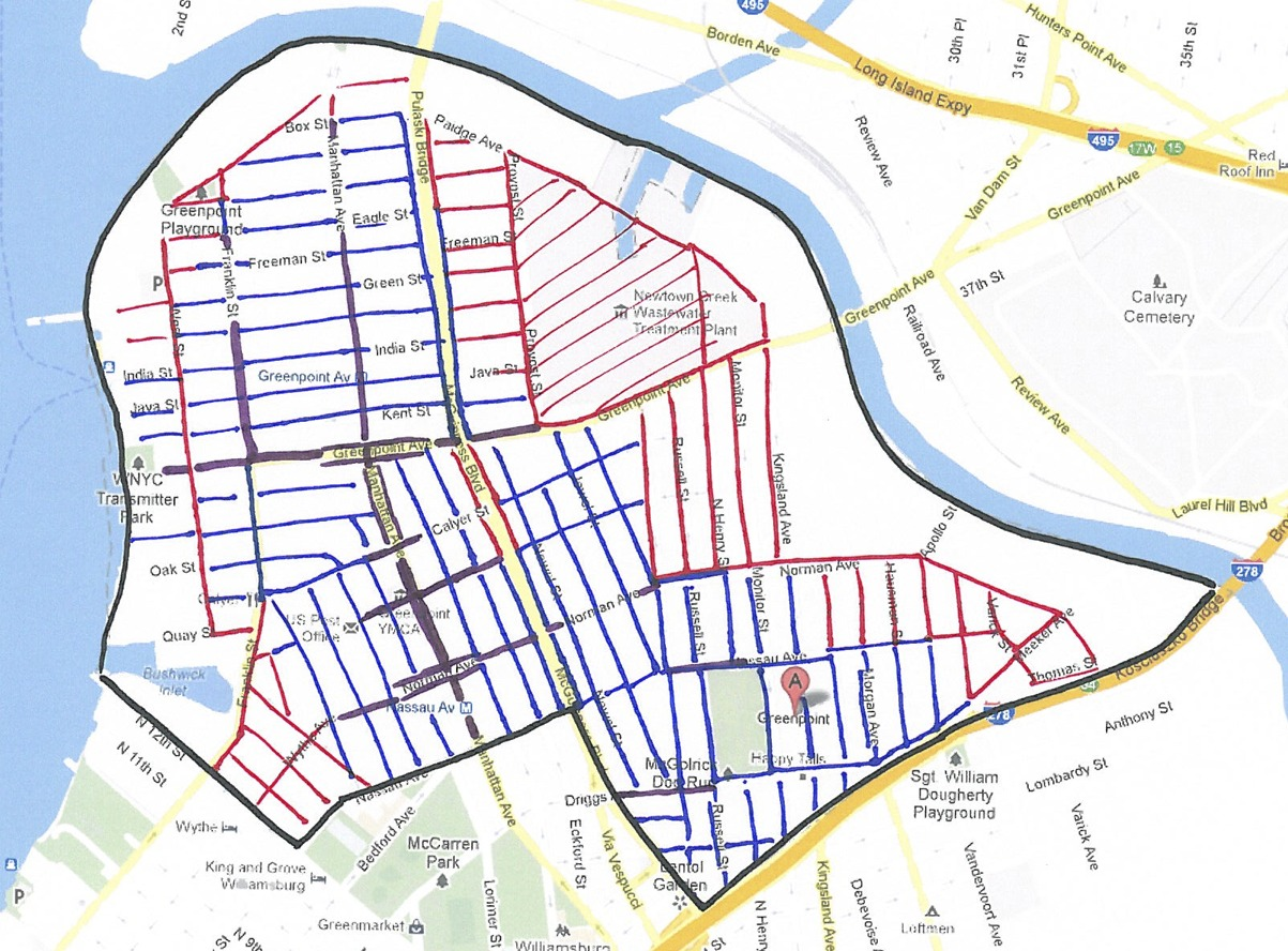 map of greenpoint brooklyn Moving To Nyc 101 Greenpoint Brooklyn map of greenpoint brooklyn