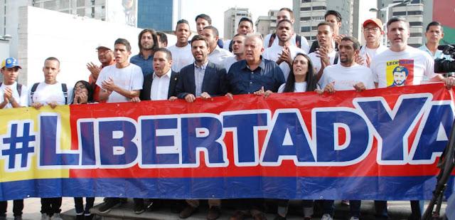 VENEZUELA: Voluntad Popular exigió libertad para Roberto Marrero.