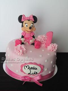 A Minnie foi ao 1º aniversário da Maria Luís
