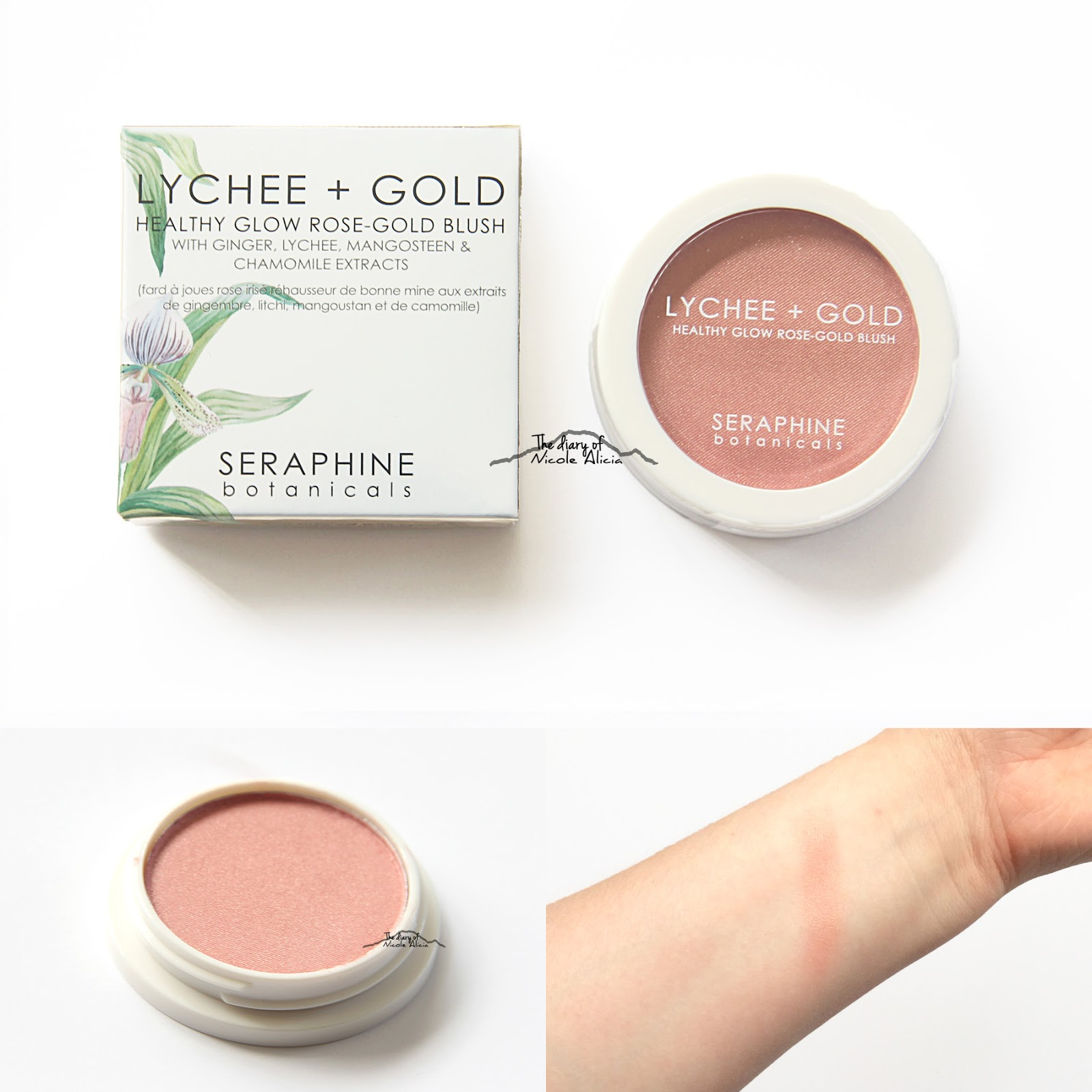 Shimmer Natural Glow Blush by Elevatione #6