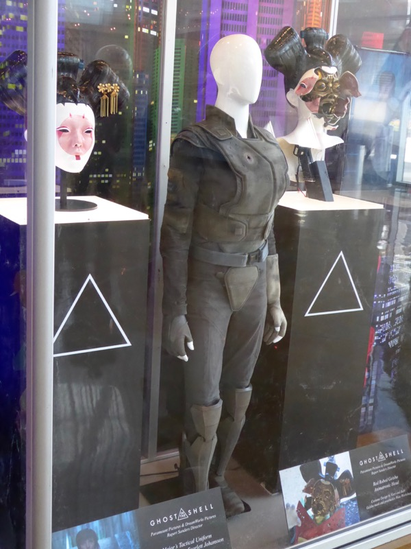 Ghost in the Shell Major tactical film costume