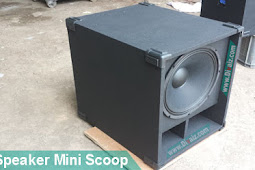 "Box Speaker Mini Scoop 15""-18"" Skema & Cara Membuatnya"