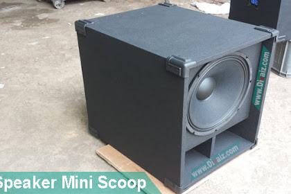 """Box Speaker Mini Scoop 15""""-18"""" Skema & Cara Membuatnya"""