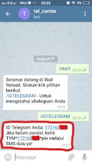 Cara Transaksi Pulsa Lewat Telegram 4