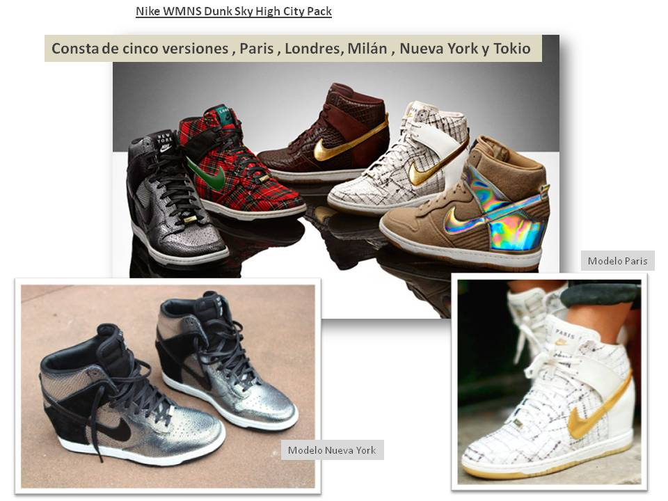 online retailer b5dd0 f5263 ... dunk sky hi city pack paris london c5467 45100 good made in nike  sneakers 00e7b 2b7e8 ...