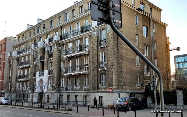 Warszawa Warsaw Powiśle Tamka architektura Domy Akademickie 1925 Marian Lalewicz warszawskie ulice