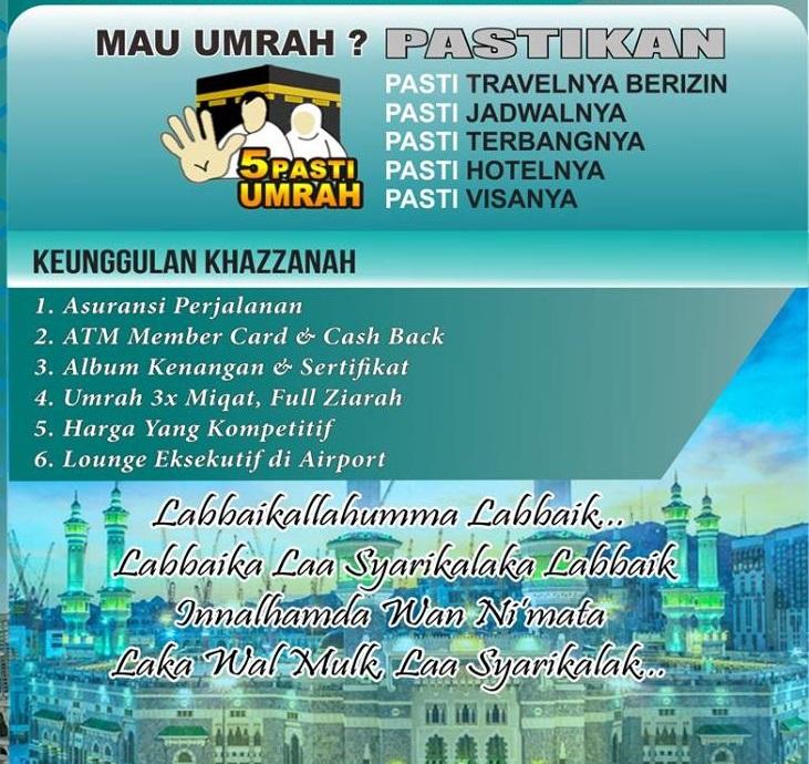 Khazzanah Tour Travel Jakarta