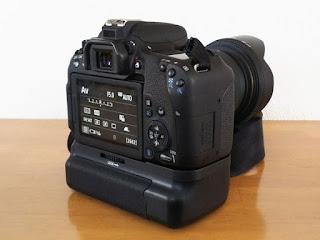 FOSITAN BG-1X 垂直バッテリーグリップ + Canon EOS 9000D