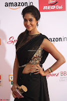 Sindhu looks fabulous in Black Saree designer choli at Mirchi Music Awards South 2017 ~  Exclusive Celebrities Galleries 047.JPG