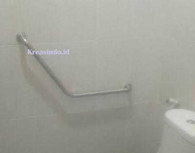 Harga Handrail Stainless Tangga dan Handrail Kloset Kamar Mandi