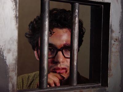 """Caio Blat interpreta Frei Tito no filme """"Batismo de Sangue"""", de 2007 - Divulgação"""