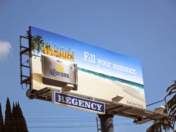 Corona Beer Fill your summer billboard