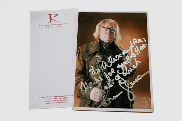 Autograf aktora Brendan Gleeson - Autograph - Szalonooki Alastor Moody Harry Potter