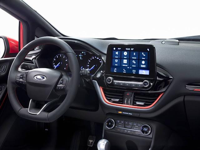 Novo Ford Fiesta 2018 - interior