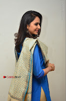 Actress Rakul Preet Singh Stills in Blue Salwar Kameez at Rarandi Veduka Chudam Press Meet  0122.JPG