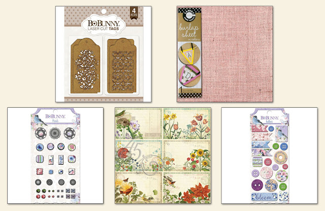 Scraps of Elegance April 2016 Wonderful kit Elements Add On