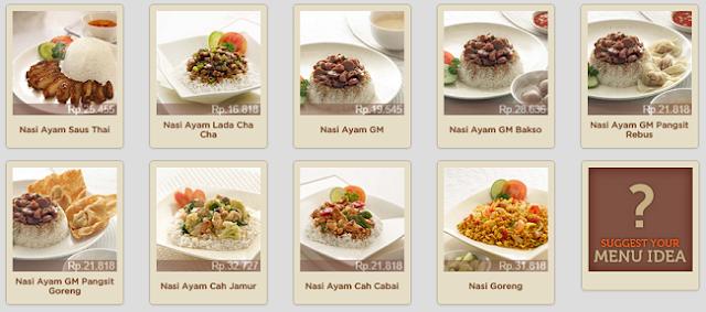 Daftar Menu Menu Nasi - Blog Mas Hendra