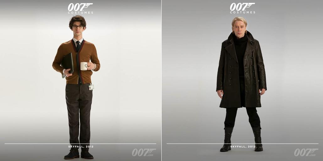 05dbd17abd Pour la scène du casino à Macao, Daniel Craig porte un costume de Tom Ford  bleu foncé avec un col en satin noir. Ses chaussures en cuir noir sont de  ...