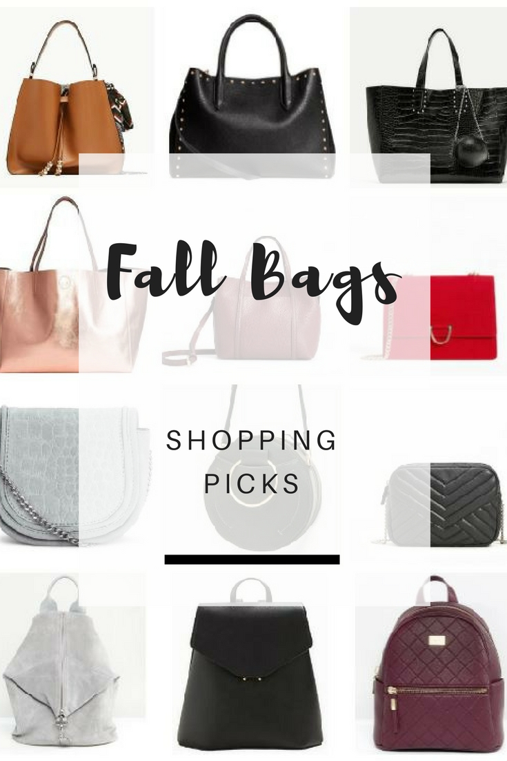 Fall 2017 Handbags: Featuring my favorite under 100€ shopping picks from my favorite stores - Ioanna's Notebook